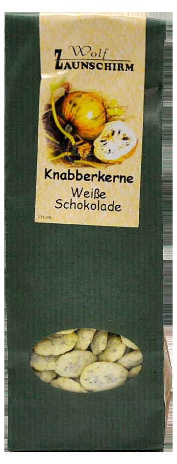 Knabberkerne Weiße Schokolade