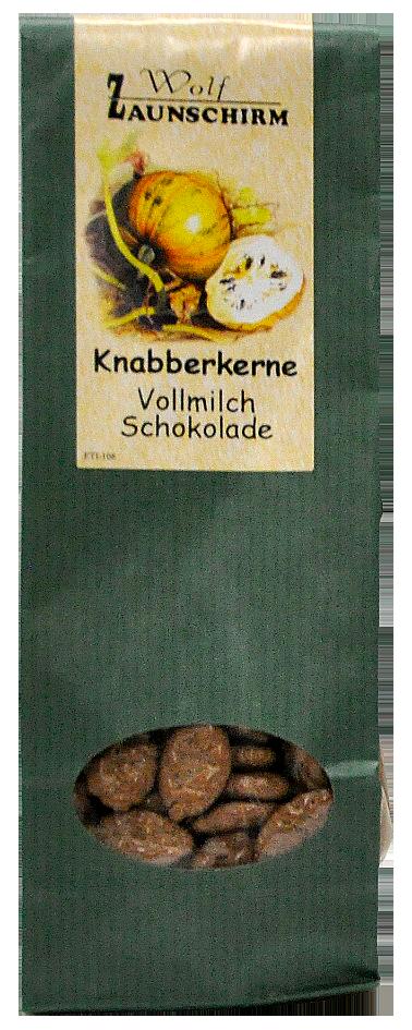 Knabberkerne Vollmilch Schokolade